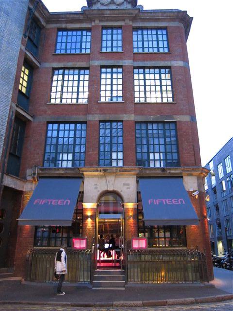 Jamie Oliver's Fifteen in London