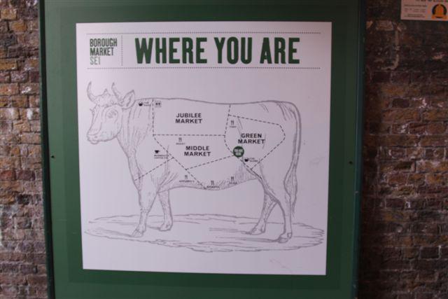 Borough Market Cow Map