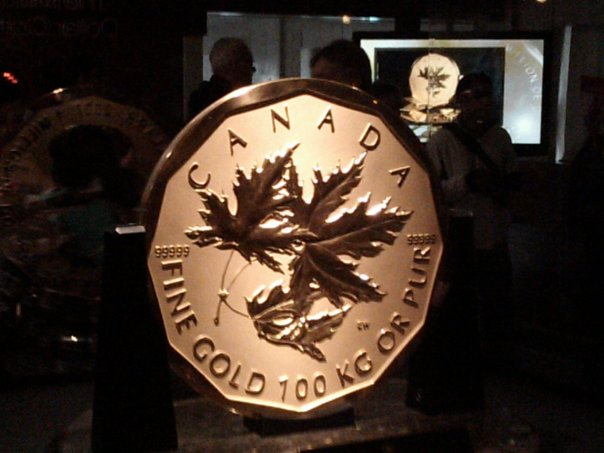 Vancouver 2010 Million Dollar Gold Coin