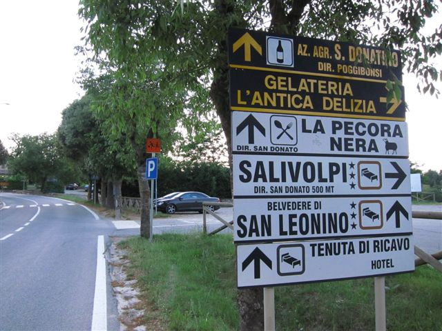 Roadsigns Advanced Italy Travel Tips