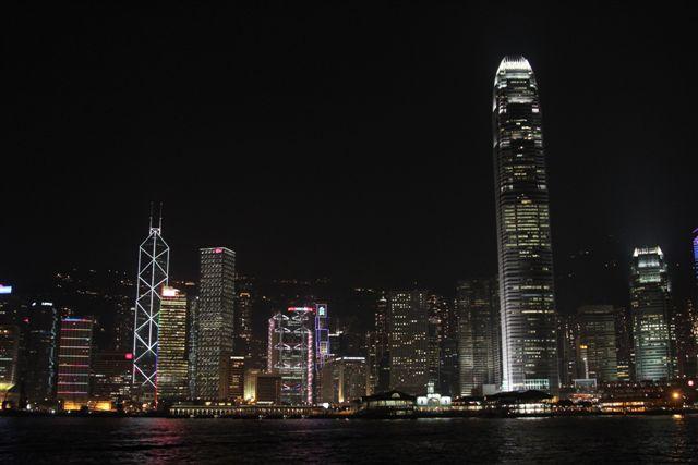 Hong Kong Skyline as Seen from Star Ferry