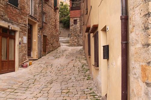 Volterra Side Street Italy