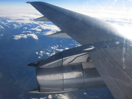 Air North 737-200 Engine