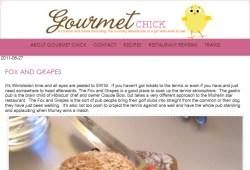 Gourmet-Chick.com