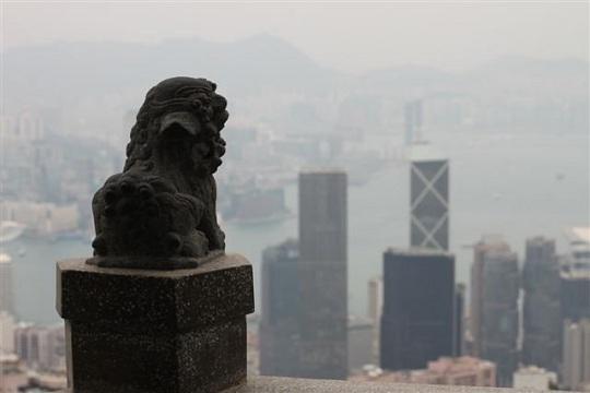 Victoria Peak Lion Hong Kong