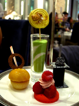 Palm Court Bijoux Afternoon Tea Pastries and Cakes