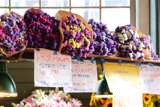 Dried Flowers at Pike Place Market