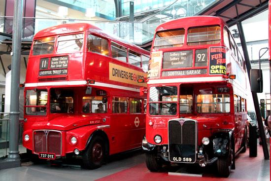 Double Decker Busses London Transport Museum