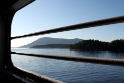 View From the Car Deck on a BC Ferry