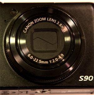 Canon S90 Lens