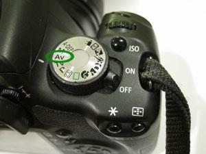 Canon T1i Aperture Priority Mode