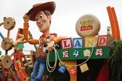 Toy Story Land at Hong Kong Disneyland