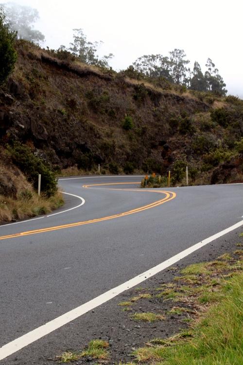 Twisty Haleakala Highway Maui