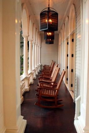 Rocking Chairs at Moana Surfrider