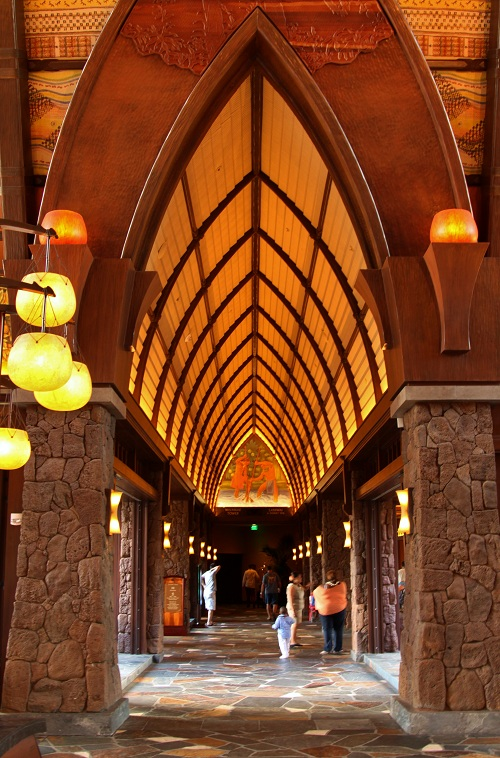 Lobby at Disney's Aulani Resort in Hawaii