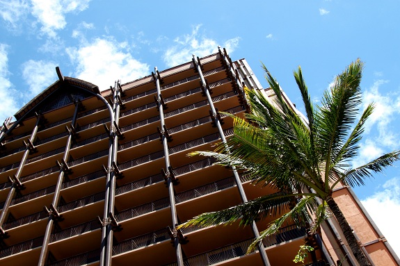 Tower at Disney's Aulani Resort in Hawaii