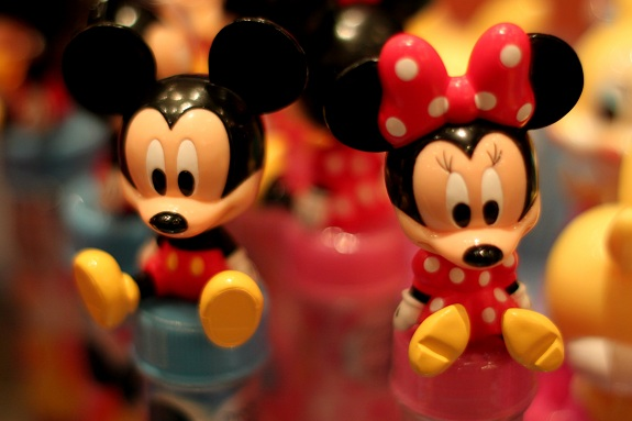 Mickey and Minnie Candy Tube Toppers