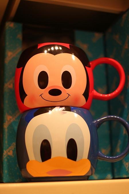 Donald and Mickey Mugs