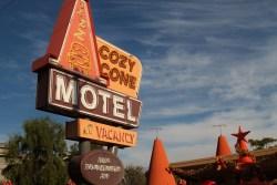 Cozy Cone Motel Sign Anaheim Califonia