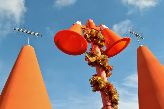 Cozy Cone Street Lights