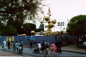 Tomorrowland 1997 Construction Fencing