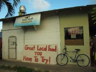 Tita's Grill North Shore Oahu Hawaii
