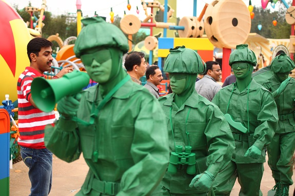 Toy Soldiers at Hong Kong Disneyland