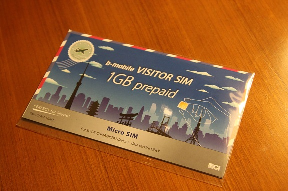B-Mobile 1GB Visitor SIM Card