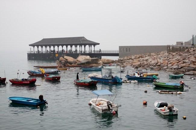 Boats at Stanley Bay Hong Ko