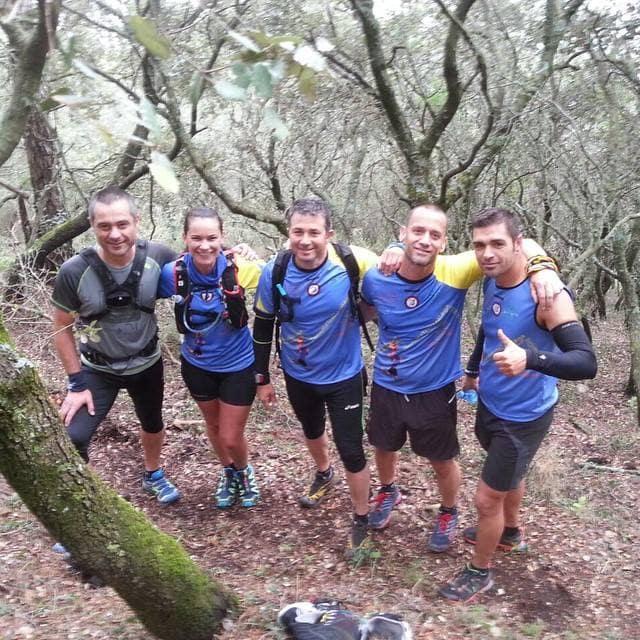 Lola Bezper en la maraton de Transgrancanaria 16