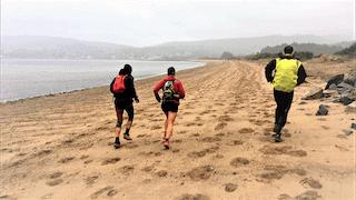 ultra trail scotland 2017 fotos mayayo playa brodick