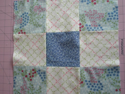 9 square quilting block