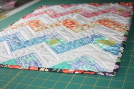 Sewing Tutorial : A ZigZag Quilt