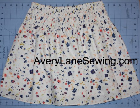Avery Lane Sewing Blog Shirred Skirt Tutorial