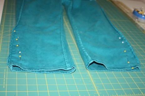 Avery Lane Sewing skinny jeans tutorial