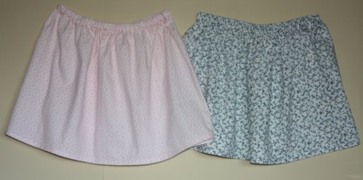 Sewing Class skirt project