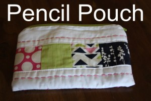 Avery Lane Sewing pencil pouch
