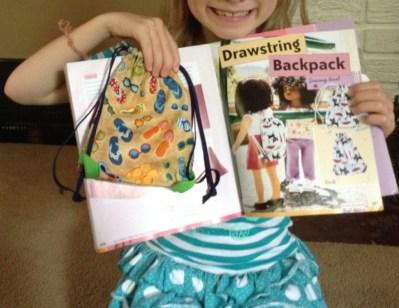 Terrie backpack 1st week of camp A