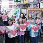 Youth Quilt Guild Sews some Hearts