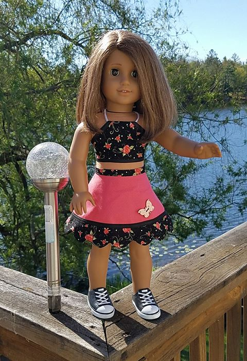 29 Doll Days Skirt Challenge