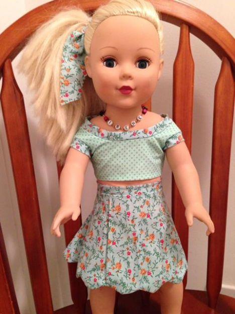 32 Doll Days Skirt Challenge