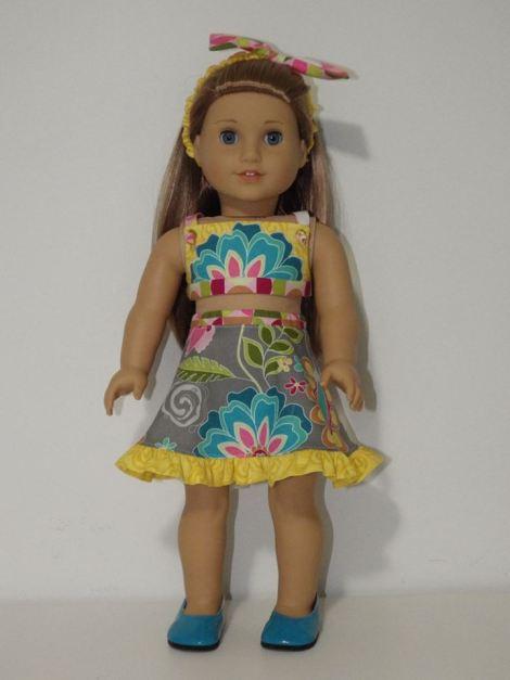 47 Doll Days Skirt Challenge