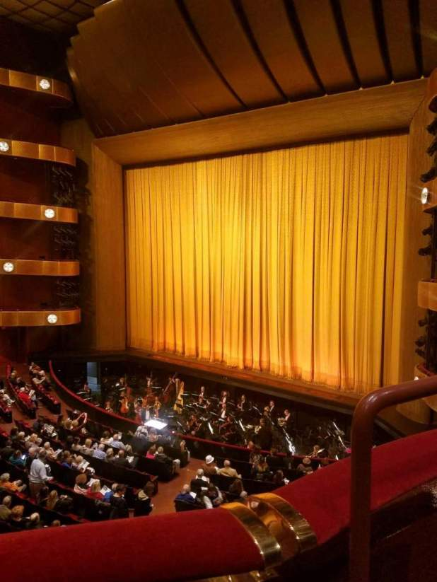 Seating View For David H Koch Theater Section 2 Ring Row A Seat 36