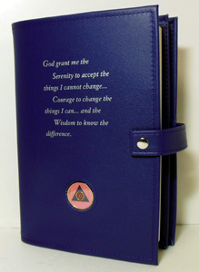 Alcoholics Anonymous Large Print Double Big Book Cover