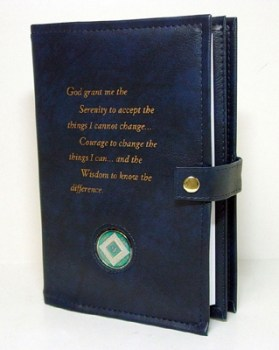 Narcotics Anonymous Serenity Prayer Double Book Cover