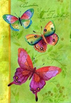 Butterfly Adventure Glitter Birthday Card