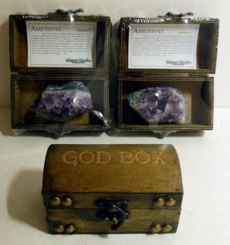Treasure Chest Amethyst God Box