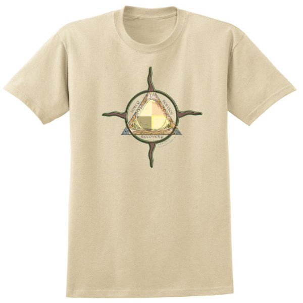 Unity Service Recovery Tan Tee Shirt
