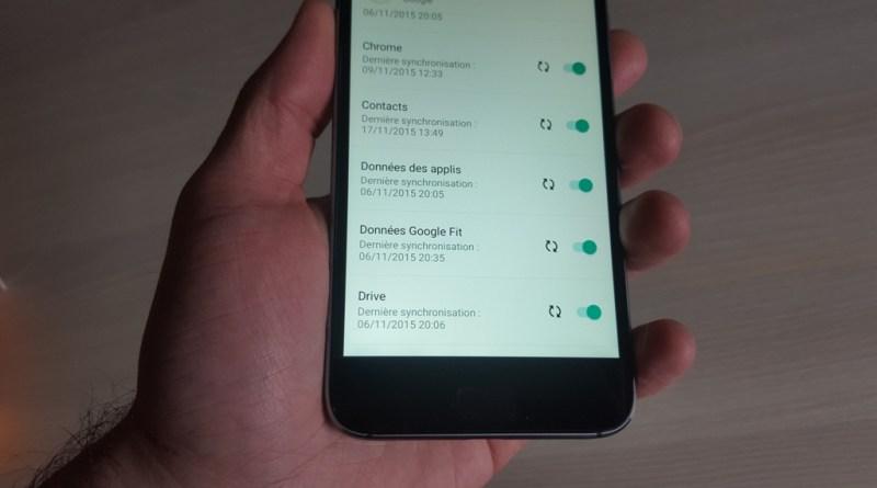 Comment synchroniser un compte sur Android