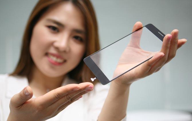 LG Des lecteurs d'empreintes sous les écrans